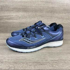 Saucony Triumph ISO 4 Blue Black Running Shoes
